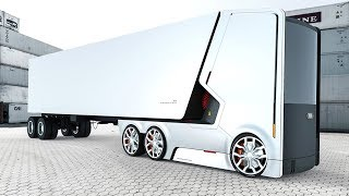 7 Amazing Future Trucks & Buses You Must See.