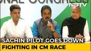Ashok Gehlot For Rajasthan, Sachin Pilot Accepts Deputy's Post