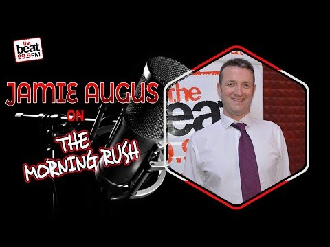 James Angus, Director of BBC World Service Group On The Morning Rush