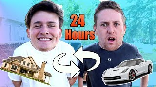 Best Friends Switch Lives For 24 Hours!!