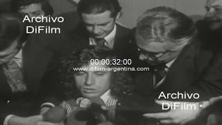 Guillermo Vilas Molesto Por Pregunta De Periodista Sobre Los Impuestos 1977
