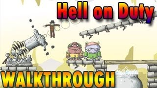 Hell on Duty Walkthrough [ Full, All Stars, Levels 1-60 ]