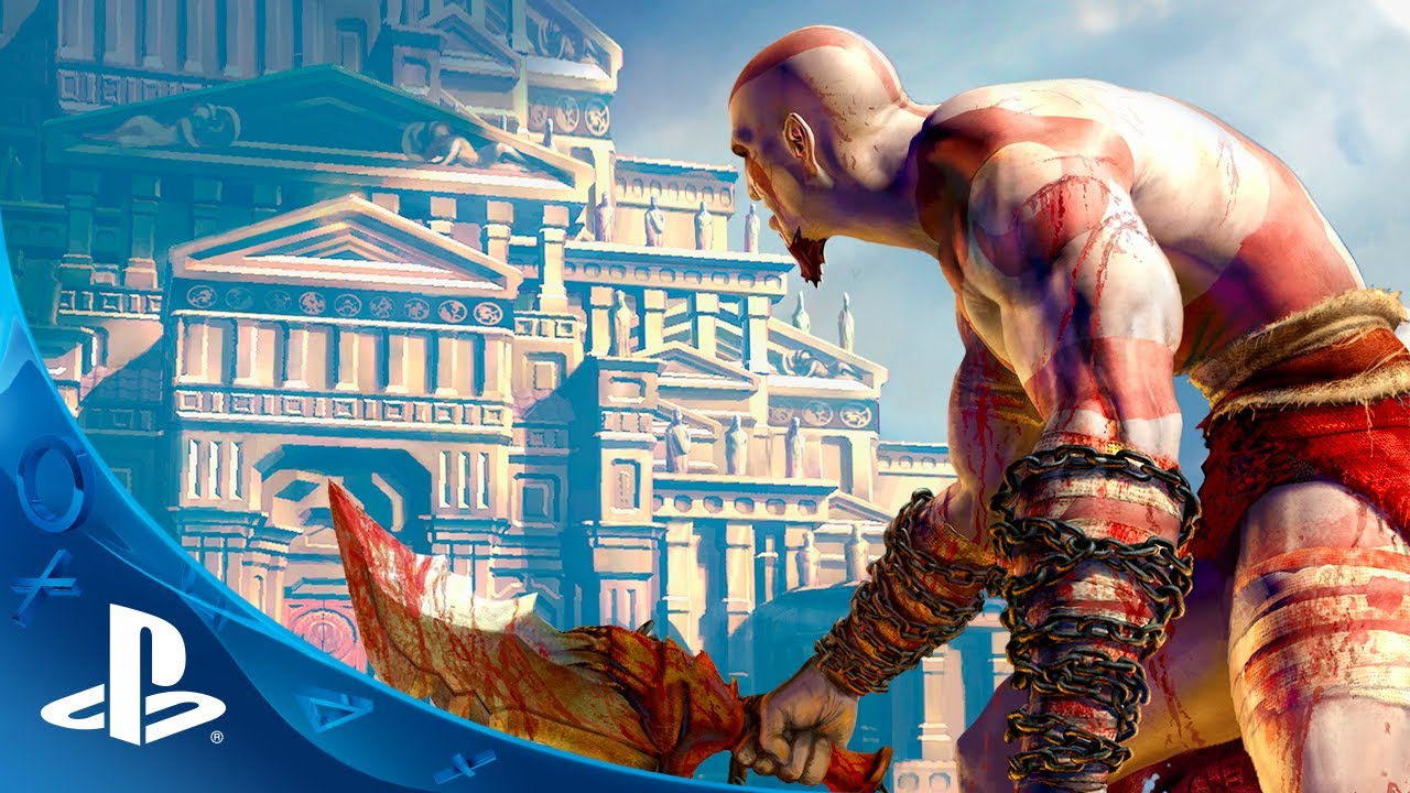 God of War Collection Out Today on PS Vita
