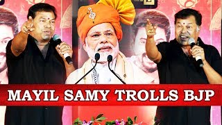 தமிழனை உங்களால் ஒன்றும் செய்ய முடியாது - Mayilsamy Speech #NNOR #Modi #Sivakarthikeyan