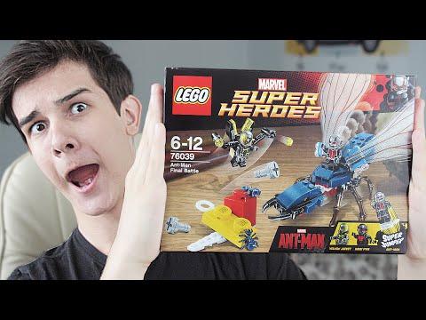 LEGO Ant-Man Final Battle (76039) - НАБОР НА ОБЗОР