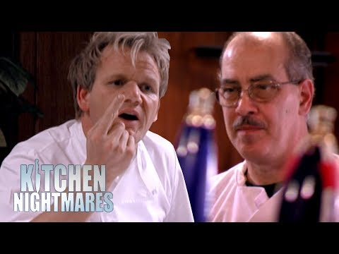 Lazy, Dirty Chef Insults Ramsay by Refusing to Taste His Food | Kitchen Nightmares