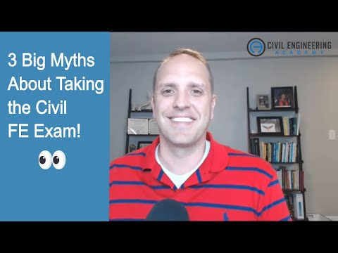 3 Big Myths About Taking the Civil FE Exam - YouTube