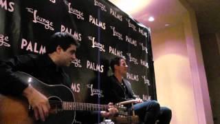 3/12/2011 Joey McIntyre EMAN Las Vegas VIP singing RAIN