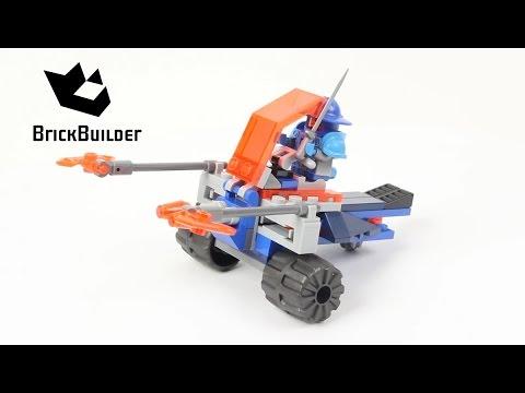 Vidéo LEGO Nexo Knights 70310 : Le char de combat de Knighton