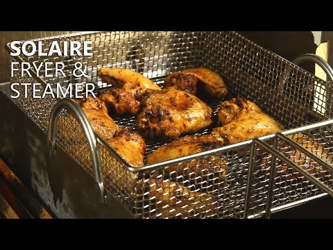 Solaire Fryer + Steamer Accessory