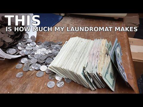 I finally opened a laundromat!
