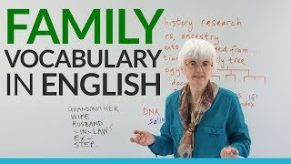 Learn Basic English Vocabulary: FAMILY