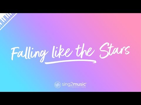 Falling Like The Stars (Piano Karaoke Instrumental) James Arthur - Sing2Piano | Piano Backing Tracks