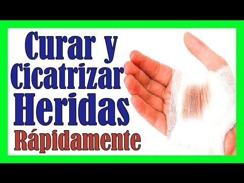 CICATRIZAR UNA HERIDA RAPIDO DE MANERA NATURAL Remedios Caseros Para Curar Heridas