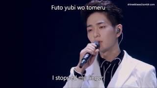 「TOKYO DOME」Taemin & Onew   Rainy Blue [LIVE] (English|Romanized Lyrics)