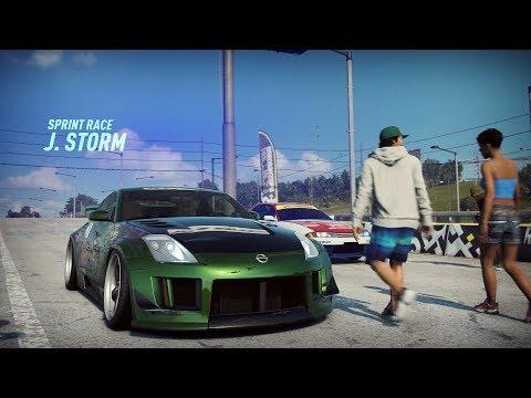 Need For Speed Heat - Winning Eddie's Skyline w/ Rachel's Nissan 350Z from Underground 2