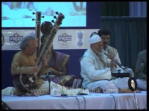 Pandit Ravi Shankar on Sitar, Ustad Bismillah Khan on Shehnai : standing ovation, rare performance