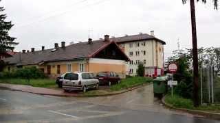Pożar na ul. Popiełuszki w Krośnie (Polanka)