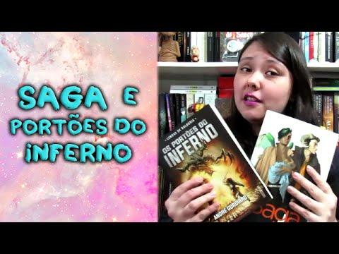 Os Portões do Inferno + Saga Vol. 1 - Grande desafio do culto booktuber + TBR Feriatona
