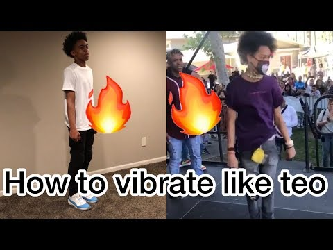 HOW TO VIBRATE YOUR BODY LIKE @SHMATEO ( BEST DANCE MOVE )