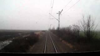 preview picture of video 'Máv V43 Szili Onboard Maklár-Füzesabony'