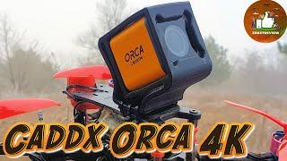 ✅ Caddx Orca 4K - Первая Недорогая HD Камера с Нормальной Стабилизацией! Почти как у Gopro!