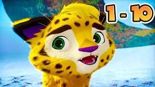 Leo and Tig - Kids show (10 episodes) compilation - Cartoons Kedoo ToonsTV