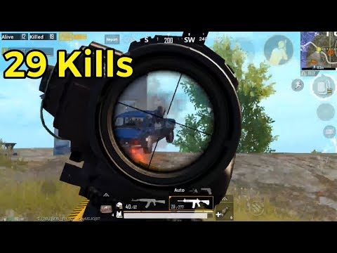 Why I don't play solo squad often | 29 Kills PUBG Mobile