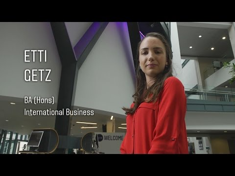 Video thumbnail of BA (Hons) International Business