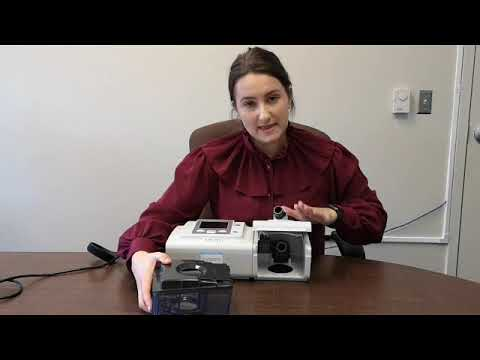How to set up your Philips Respironics BIPAP A40