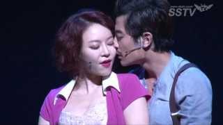 [SSTV] '보니앤클라이드' 리사, 섹시한 유혹~ 한지상과 '아찔한 키스'