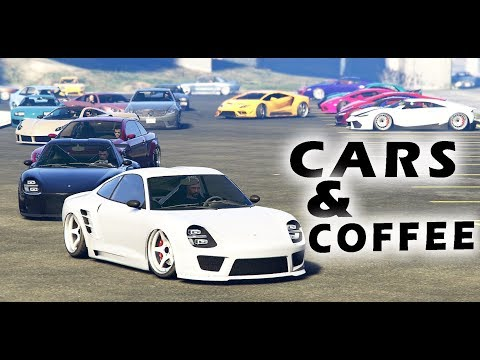 GTA 5 CARS & COFFEE ONLINE CAR MEET