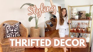 Styling Thrifted Decor L Bohemian Home Decor L Styling Tips