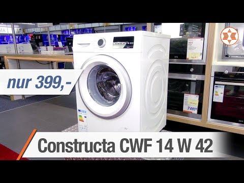 Constructa Waschmaschine CWF 14 W 42 für nur 399 Euro! - Angebot der Woche