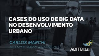 Cases do uso de Big Data no desenvolvimento urbano