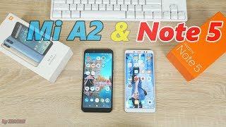 Xiaomi Redmi Note 5 или Xiaomi Mi A2? Какой смартфон купить в 2018-2019 году?