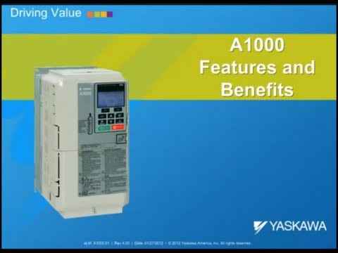 A1000 Yaskawa High Performance Vector Control AC Drive