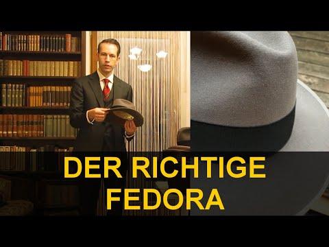 Der Herren-Hut . Teil 2 . Modellauswahl & Form des Fedora