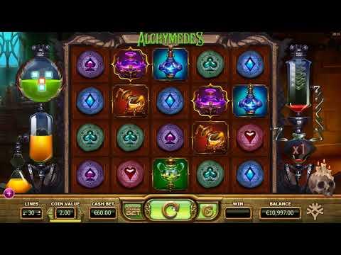 Игровой автомат Alchymedes играть бесплатно и без регистрации онлайн