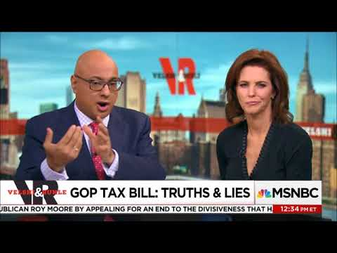 MSNBC LIVE  VELSHI AND RHULE   THE SMARTEST AND FUNNIEST NEWS COUPLE ON THE TAX BILL   12 02 2017