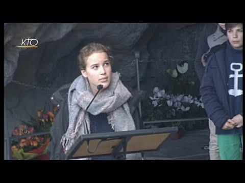 Chapelet à Lourdes du 4 avril 2019