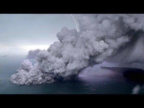 Kondisi Terkini Erupsi Gunung Anak Krakatau, Tinggi Debu Vulkanik Capai 12 Km