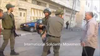 Seven year-old child violently detained by Israeli forces