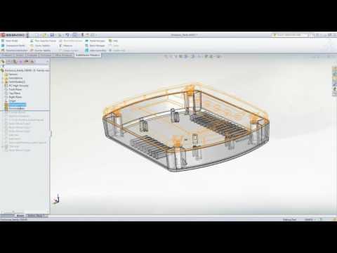 SolidWorks Plastics 2012 FirstLook Video