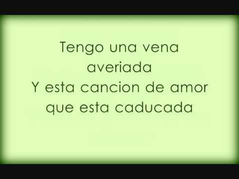 Canción de amor caducada - Melendi