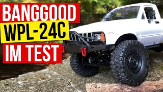 Banggood Bestellung: WPL-C24 4WD RC Auto unter 50 Euro im Test. Scale Crawler in 1/16 Unboxing