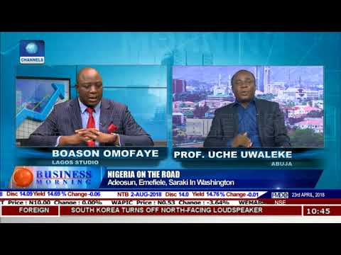 Uwaleke On New Economic Diplomacy Initiative Pt.2 |Business Morning|