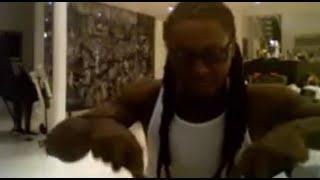 Lil Wayne having dinner on Ustream (2010)