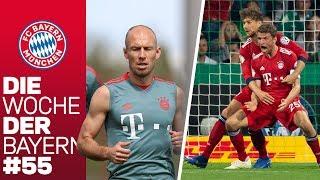 Einzug Ins DFB-Pokal-Finale & Robben Zurück Im Training! | Die Woche Der Bayern | Ausgabe 55