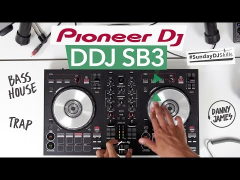 Pioneer DDJ SB3 – Bass House vs Trap Mix – #SundayDJSkills